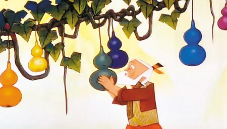 """种出了七色葫芦,是七个葫芦娃的""""爷爷"""""""